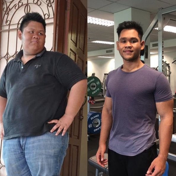148kg ke 75kg jadi SADO remaja dari Sarawak ini kongsi RAHSIA beliau