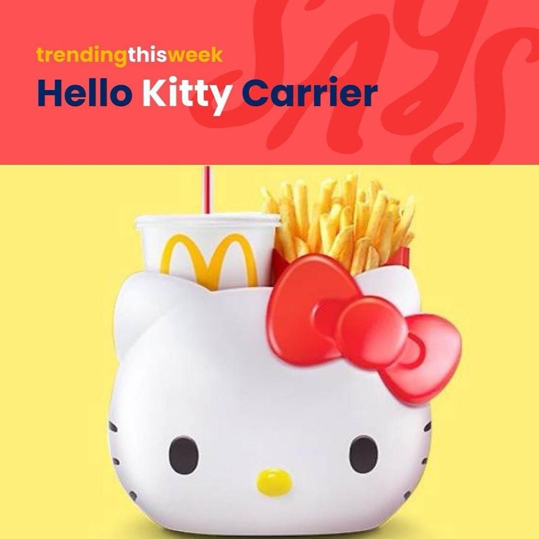 Hello Kitty Carrier Mula Dijual 27 November 2019 10 Pagi Di McD Seluruh Malaysia!